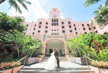 Royal Hawaiian wedding