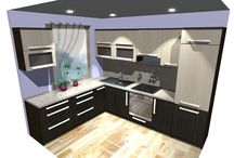 3D vizualizácie interiérov / 3D grafické návrhy, dizajn, interiér