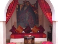 Morrocan sitting area / by Lavender Rose Cottagey