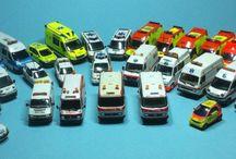 Ambulàncies Sistema d'Emergències Mèdiques 1/87 / http://vehiculosh0.blogspot.com