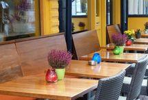 Terrasse de café/restaurant / Terrasse de café/restaurant