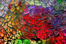 Crash Glass Mosaics / Use PIN5 to save 5% off all of your hand cut, stained glass mosaic tiles at Mosaic Tile Mania, where we have the world's largest selection of hand cut stained glass mosaic tiles and a full line of mosaic supplies.  (Including crash glass!) / by Mosaic Tile Mania