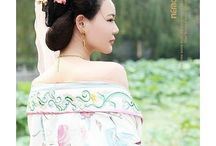 hanfu:traditional chinese costume