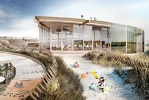 Fanø Beachhouse by Lendager Arkitekter / The architectural visuals for Fanø Beachhouse by Lendager Arkitekter. Images were created in 2015.