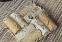 wine cork, wine glass