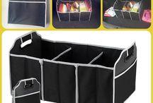 Сумка органайзер в автомобиль / Удобные сумки органайзеры из крепкой ткани вместят в себя все, что разложено по углам багажника. Удобно сложить покупки из магазина. А на пикнике Вы легко сложите  продукты  в сумку органайзер и донесете до понравившейся поляны.