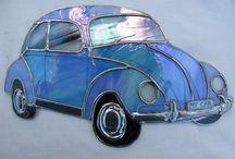 Carros de mosaico