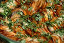 gratin de patates douces pimenté