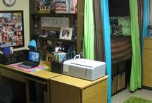 cute dorm room. / by Debbie Krasenics