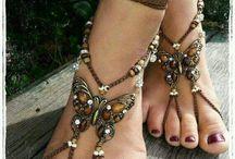 украшение на ноги