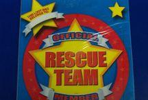 Party Theme: Rescue & Paw Patrol