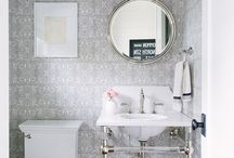 Powder Room Inspiration / Inspiring Powder Room Decor and Design