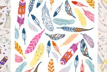 Spoonflower design challenge / Spoonflower design inspirations