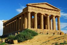 Roman architecture in antique era