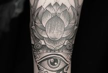 Ra Of eye tattoo