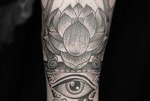 Ra Of eye tattoo