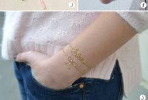 Bracelets/Accesorries / smykker og diy's til smykker