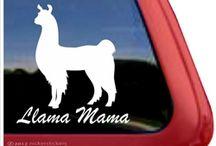 Llama & Alpaca Stuff / Things to buy that feature Llamas and Alpacas