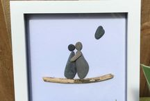 My work 'Cornwall Rocks Art' / Hand crafted by me in Cornwall