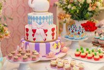Festa Alice no Pais da Maravilhas - DIY