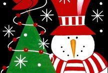 Individuales de Navidad