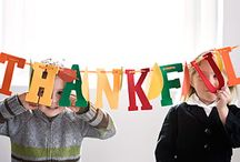 thanksgiving crafts for the kids / by Rhea Ward