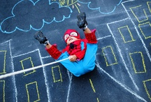 SUPERHERO PHOTOSHOOT IDEAS - CHILDREN