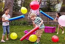 Outside party games for kids