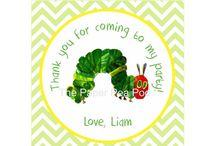 Little Bear's First Birthday (Very Hungry Caterpillar theme)