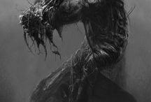 Beksiński / His art is so disturbing that I love it