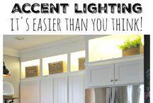 Beautiful lighting / Lighting ideas and options