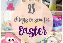 25 things to sew for Easter