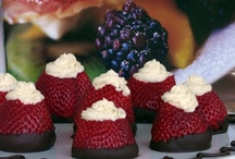 Strawberries!  / Because I can always be won over with chocolate covered strawberries :P  / by Meghan McKenna