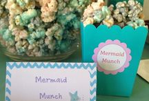 Purple and Teal Mermaid Party