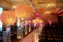High Glamour / Classic, elegant, refined, restrained - glamour is hard to define, but easy to spot. These are some of our favorites. #Chicago All decor, lighting, and fabric produced by Art of Imagination's Deborah Weisenhaus and her team. www.artofimagination.com