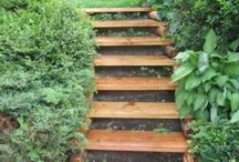 Treppe Garten