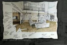 Interior Sketch concept