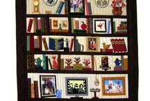 Library and Bookcase Quilt