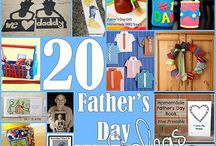 Father's Day Ideas / The best pins with ideas, activities, and crafts for Father's Day!