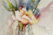 Peinture / Fleurs