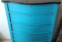 Painting dressers