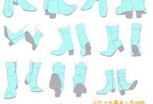 靴 描き方
