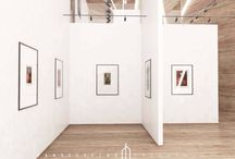 Projekt galerii sztuki / Projekt galerii, która mogłaby powstać przy ASP w Łodzi.