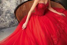 červená - red
