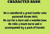 Character Bank: