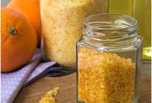 Orangen Sirup Zucker