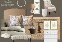 Guest room ideas... / by Lisa Lanier