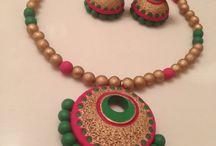 love for Terracotta jewellery