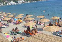 Beaches of Poros Island, Greece