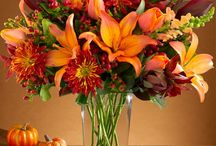 Fall Fresh Flower Arrangements